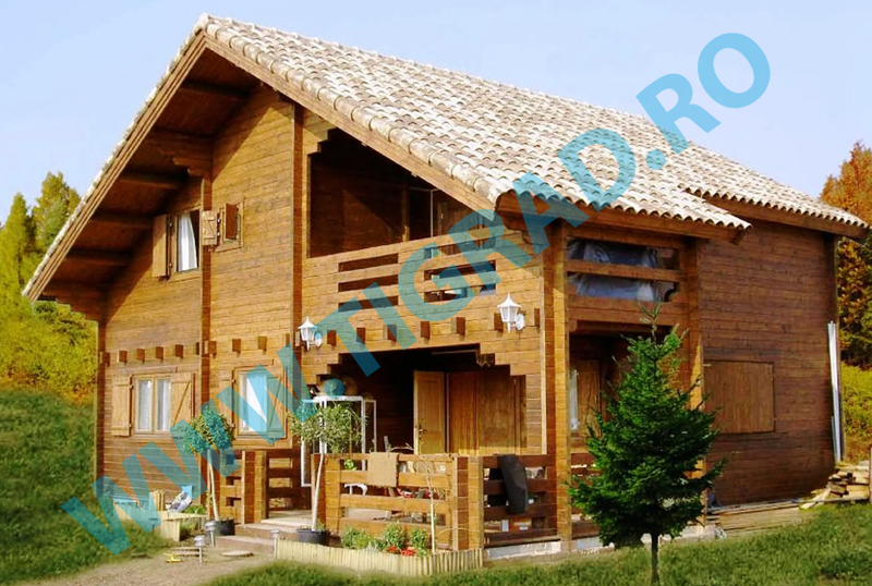Wooden houses timber frame houses tig rad system for Case legno romania prezzi